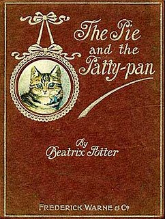 <i>The Tale of the Pie and the Patty-Pan</i> childrens book written and illustrated by Beatrix Potter