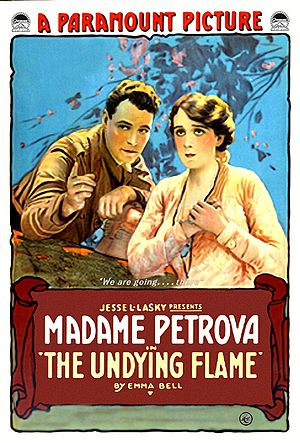 The Undying Flame - Film poster