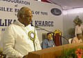 The Union Minister for Labour and Employment, Shri Mallikarjun Kharge addressing at the inauguration of the Silver Jubilee Building of National Instructional Media Institute (NIMI) in Chennai on May 25, 2012.jpg