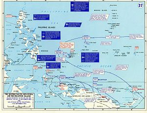 Battle Of Morotai Wikipedia - West pacific islands map 1998