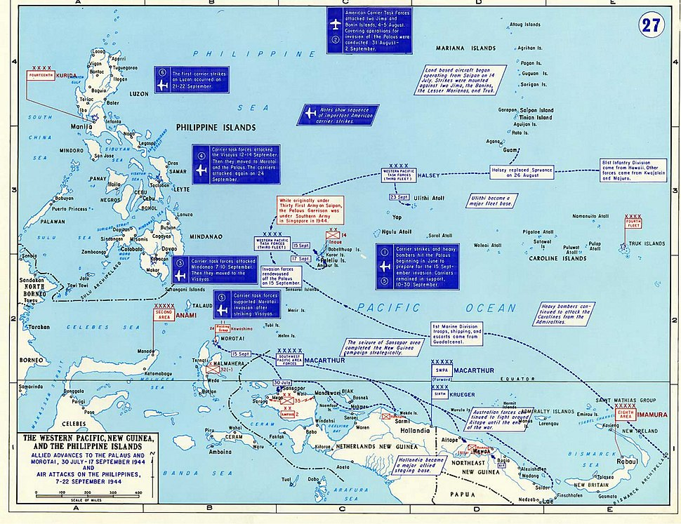 The Western Pacific, New Guinea And The Philippine Islands