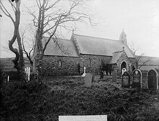 The church, Llanfair-nant-y-gof, near Letterston