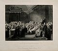 The death of William Pitt, Lord Chatham, in the Upper Chambe Wellcome V0006707.jpg