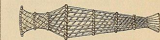 Fishing basket - A Roman fishing basket (Latin nassa)