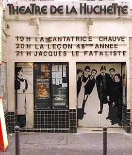 Théâtre de la Huchette theatre in Paris, France
