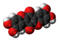 Thelephoric acid 3D spacefill.png