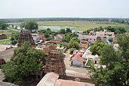 Thirumayam seen from fort