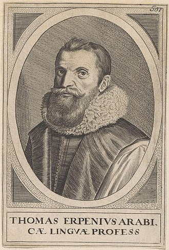 Thomas van Erpe - Thomas Erpenius