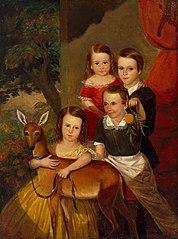 Portrait of the Jones Children of Galveston