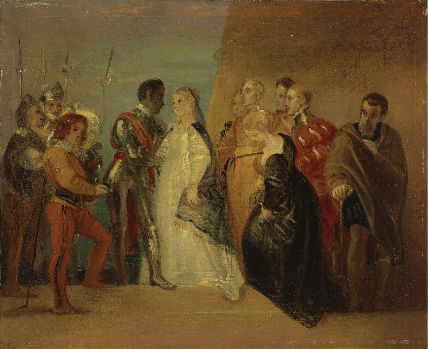 gender differences and the mistreatment of desdemona in shakespeares othello