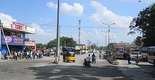 Thudiyalur Neighbourhood in Kongu Nadu, Tamil Nadu, India