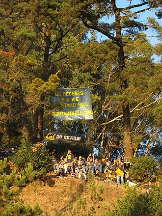 Tightwad Hill - November 4, 2006, Cal Bears vs. UCLA