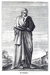 Timon of Phlius Ancient Greek philosopher