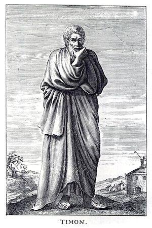 Timon of Phlius - Timon of Phlius, 17th-century engraving