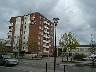 Timrå - Image: Timrå Kommunhus