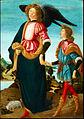 Tobia e san Raffaele Arcangelo 1480-85 54х40 Accademia Carrara. Bergamo.jpg