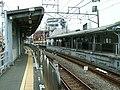 Tokyu-ikegami-line-Chidoricho-station-platform.jpg