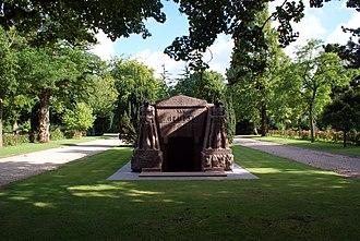 J. B. van Heutsz - Tomb of Joannes Benedictus van Heutsz at the Nieuwe Ooster Begraafplaats in Amsterdam