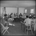 Topaz, Utah. A community council meeting, which was held to form a city charter, for residents of t . . . - NARA - 536990.tif