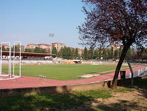 Memorial Primo Nebiolo - The host stadium in Turin