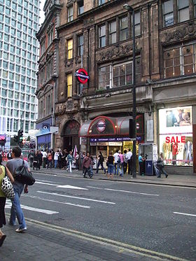 Image illustrative de l'article Tottenham Court Road (métro de Londres)