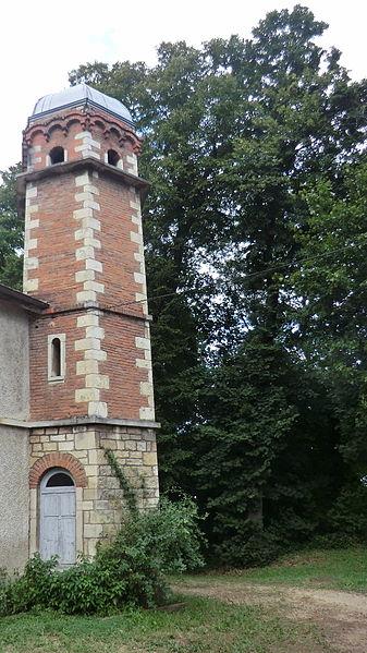 Tour du château de Corcelles (Trévoux).