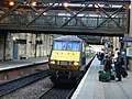 Train arriving at Waverley Station - geograph.org.uk - 1777128.jpg