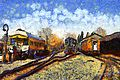 Train station, Vincent von Gogh.jpg