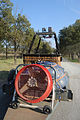 Transporting components of a hot air balloon 2.JPG