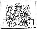 Treenigheten, fransk miniatyr från 1300-talet.jpg