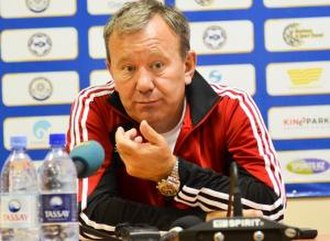 FC Aktobe - Vladimir Mukhanov managed the team between 2006 and 2012.