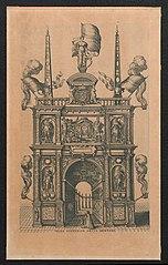 Triomfboog van Genua (achterzijde)