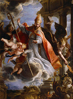 Augustine of Hippo Catholic theologian, philosopher, Church Father, bishop and Christian saint (354– 430)