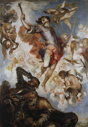 Hermenegild - El Triunfo de San Hermenegildo by Francisco Herrera the Younger (1654)
