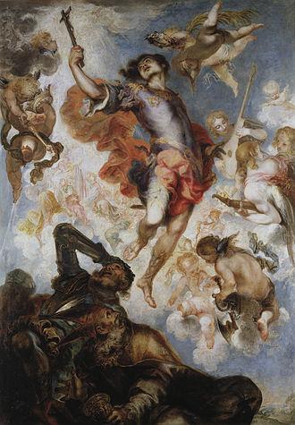 Hermenegild - El Triunfo de San Hermenegildo by Francisco Herrera the Younger (1654)