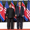 Trump and Kim pose a photo before Singapore Summit (square crop).jpg