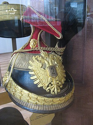 Imperial and Royal Uhlans - Czapka of a subaltern of the 2nd Uhlans