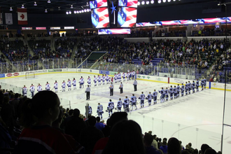 Tsongas Center - Interior of the arena