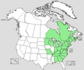 Tsuga canadensis distribution map.png