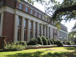 Tulane University Law School - Jones Hall, where the law school was located from 1969 until 1995 and where scenes for The Pelican Brief were filmed.