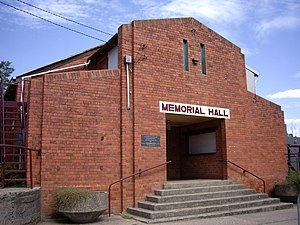 Tumbarumba - Image: Tumbarumba Memorial Hall