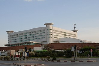 Headquarters of Tunis channel Tunis siege television.JPG