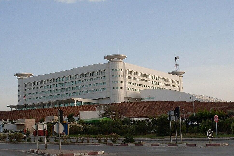 Tunis siège télévision