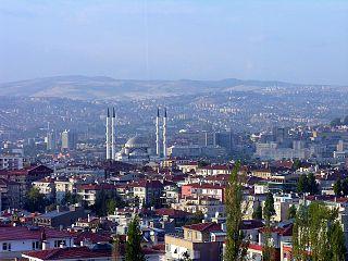 Altındağ, Ankara District in Central Anatolia, Turkey