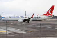 TC-JVJ - B738 - Turkish Airlines