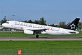 Turkish Airlines (Star Alliance Livery), TC-JPF, Airbus A320-232 (16268927850).jpg