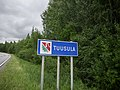 Tuusula municipal border sign 2018.jpg