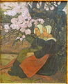 Two Breton Women under an Apple Tree in Flower, by Paul Serusier, 1892 AD, oil on canvas - Museo Nacional Centro de Arte Reina Sofía - DSC08740.JPG