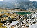 Two small lakes Lille Malene hike near Nuuk Greenland.jpg