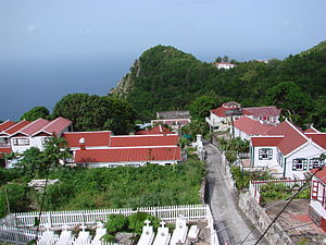 Saba - A typical Saba view.